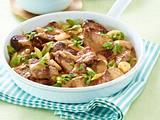 Geschnetzeltes vom Schweinefilet mit Reis Rezept