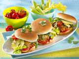 Gesunder Puten-Burger Rezept