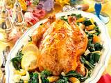 Glasiertes Hähnchen mit Broccoli-Gemüse Rezept