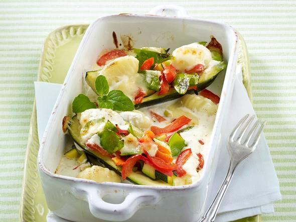 Gnocchi-Gemüse-Auflauf Rezept