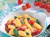 Gnocchi-Käse-Pfanne mit Salbei und Tomaten Rezept