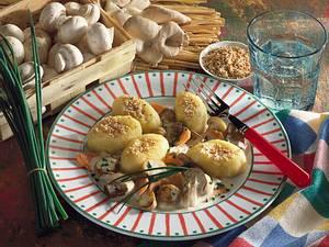 Gnocchi mit Pilzsoße Rezept