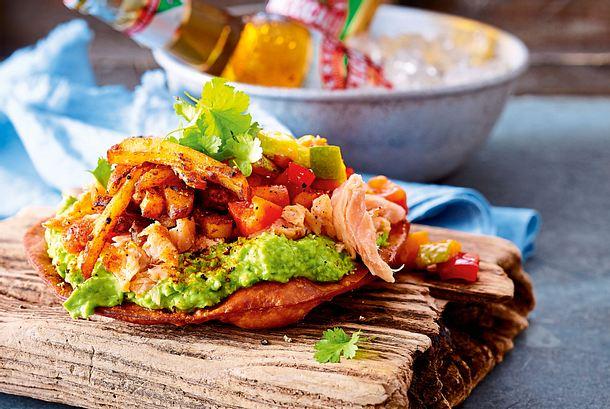 Gran Taco mit Lachs und Mangosalsa Rezept