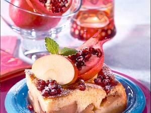 Granatige Apfeltorte Rezept