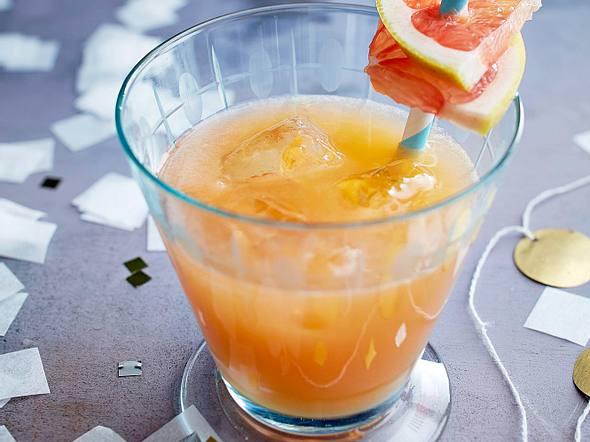 Grapefruit-Gin-Cooler Rezept