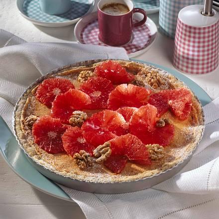 Grapefruit-Walnusstarte Rezept