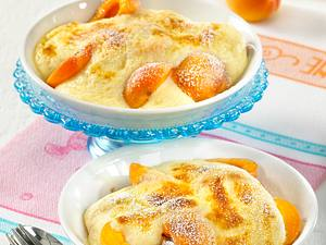 Gratinierte Aprikosen mit Zabaione Rezept