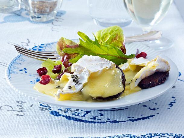 Gratinierte Camembert-Taler Rezept