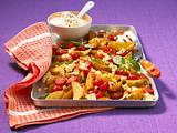 Gratinierte Potato wedges Rezept