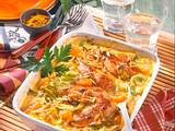 Gratiniertes Curry-Hühnchen Rezept