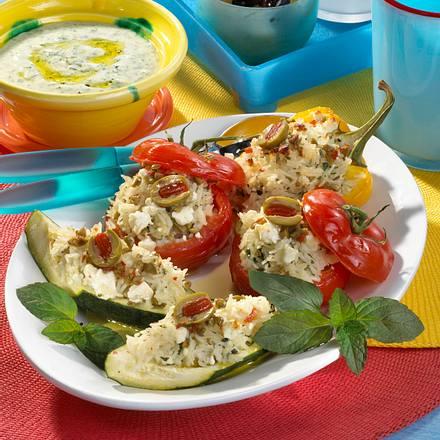 Griechische Gemüseplatte Rezept