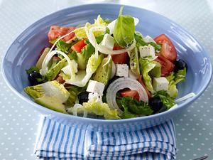 Griechischer Bauernsalat (Trennkost) Rezept