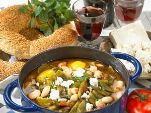 Griechischer Bohnentopf Rezept