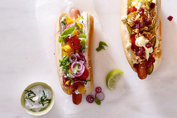 Griechischer Hotdog Rezept