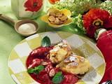 Grießnocken mit Rhabarberkompott Rezept