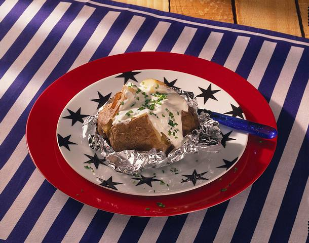 Grillkartoffel mit Sour-Cream Rezept