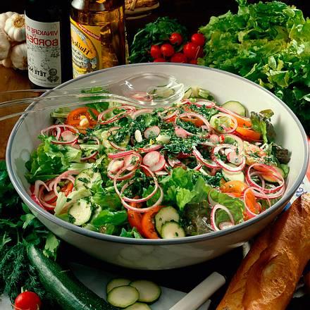 Große Salatschüssel Rezept
