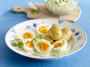 Grüne Soße mit neuen Kartoffeln Rezept