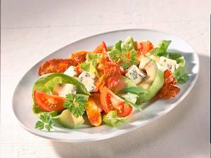 Grüner Salat mit Geflügel Rezept