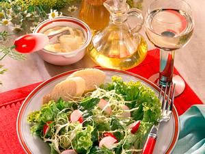 Grüner Salat mit Radieschen Rezept