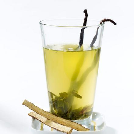 Grüner Tee mit Vanille und Süßholz Rezept