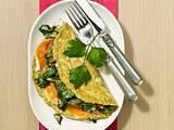 Grünes Kräuter-Spinat-Omelett Rezept