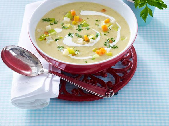 Grünkern-Gemüse-Suppe Rezept