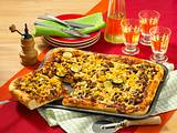 Hack-Pizza Rezept