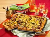 Hack-Pizza Rezept