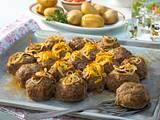 Hack-Sonne mit Kartoffelkruste Rezept