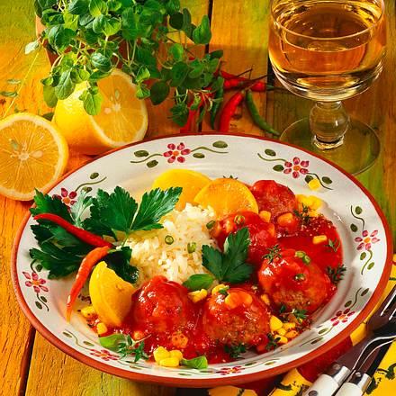 Hackbällchen in Tomatensoße Rezept