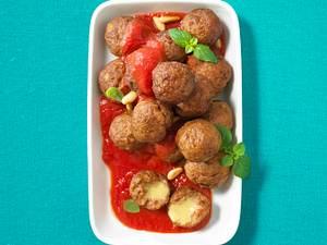 Hackbällchen (Polpette) mit Tomatensoße Rezept