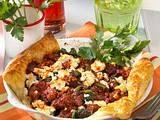 Hackfleisch-Spinat-Quiche Rezept