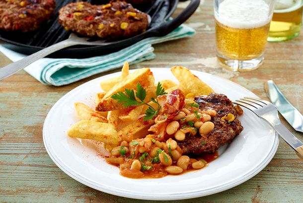"Hacksteak ""Westernstyle"" Rezept"