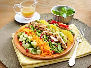 Hähnchen-Avocado-Salat Rezept
