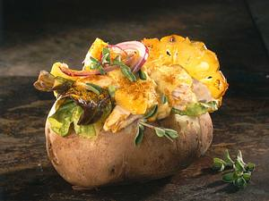 Hähnchen-Curry-Kartoffel Rezept
