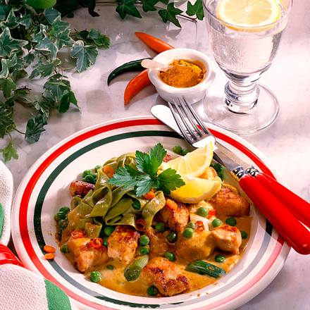 Hähnchen-Curryragout Rezept