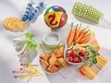 Hähnchen-Gemüse-Snackbox Rezept