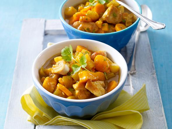 Hähnchen-Mango-Curry Rezept