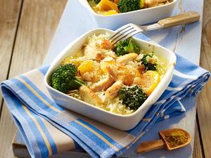 Hähnchen-Reis-Auflauf Rezept