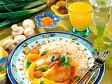 Hähnchenbrust mit Curry-Sauce Rezept