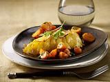 Hähnchenfilet mit Kartoffelkruste Rezept