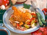 Hähnchenkeule auf asiatische Art Rezept