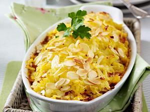 Hähnchenragout unter Kartoffelkruste Rezept