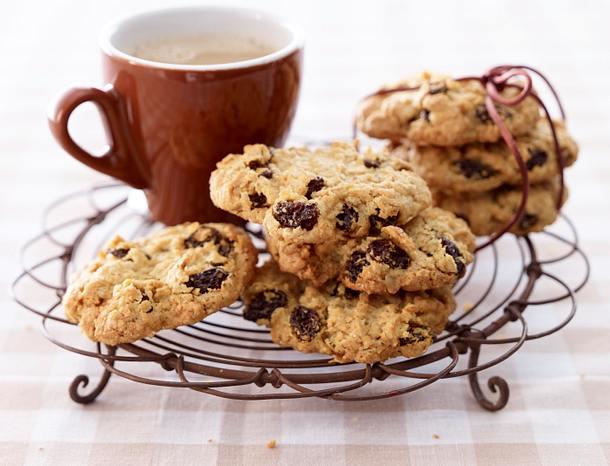 haferflocken rosinen cookies rezept lecker. Black Bedroom Furniture Sets. Home Design Ideas