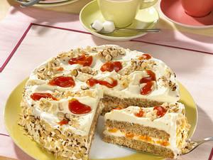 Hagebutten-Nuss-Torte Rezept