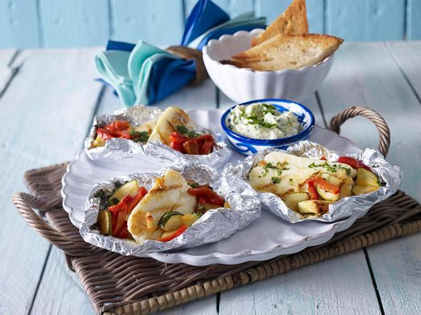 Halloumi-Päckchen mit Gemüse Rezept