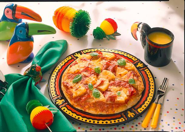 Hawaii-Pizza Rezept