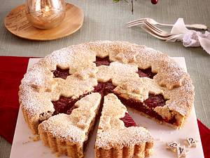 Heidelbeer-Himbeer-Pie Rezept