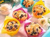 Heidelbeermuffins mit Eierlikörsahne (Diabetiker) Rezept